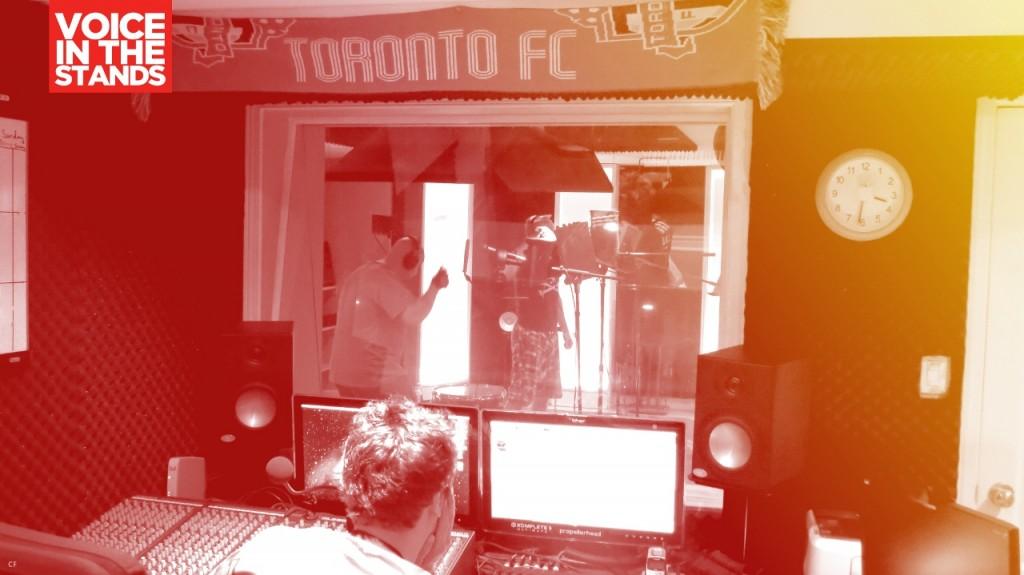 RPB in the recording studio image