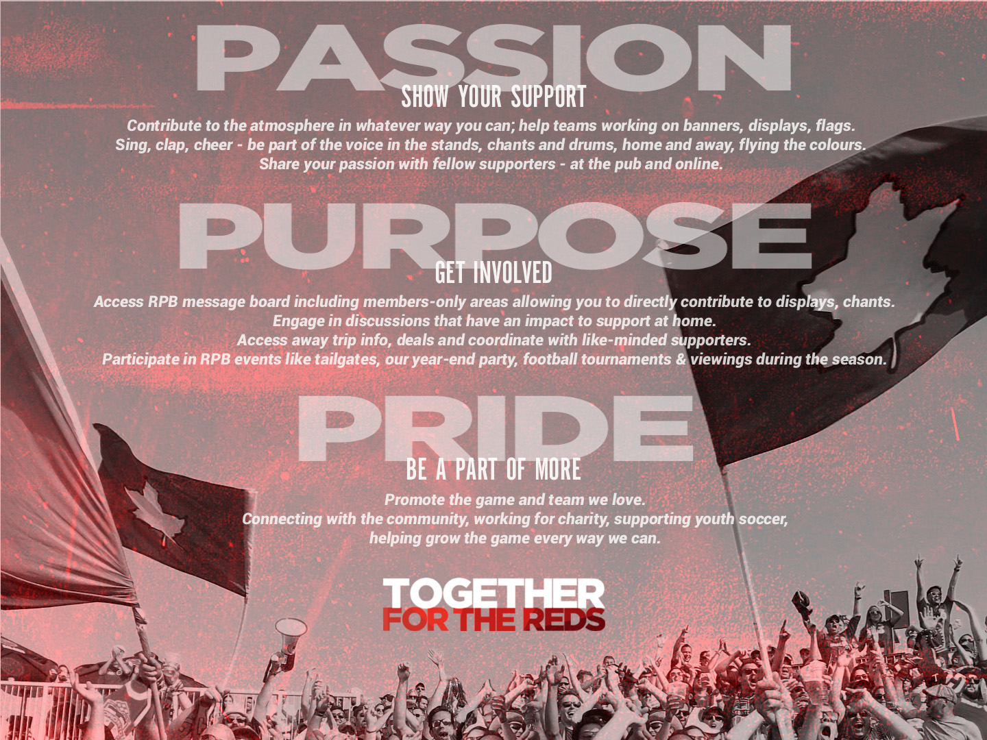 PASSION. PURPOSE. PRIDE.