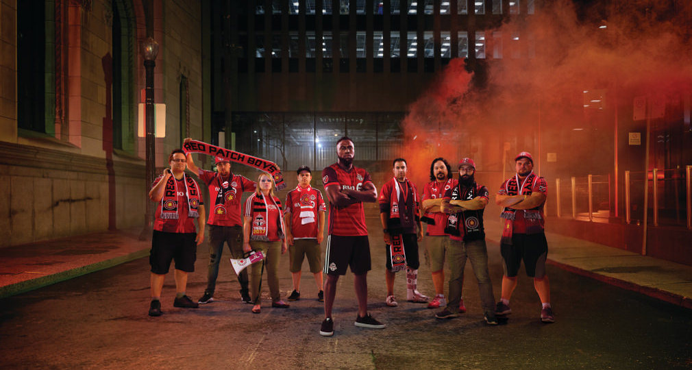 Jozy Altidore and Red Patch Boys members feature in SickKids VS hospital foundation campaign