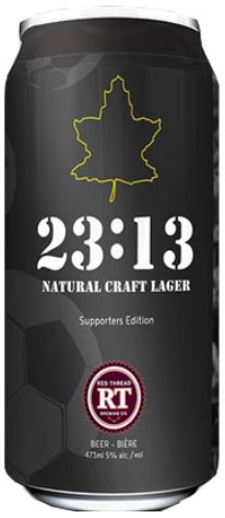 23:13 All-Natural Craft Lager can image