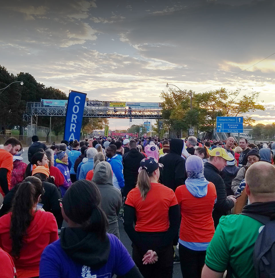 Red Patch Boys Campaign for Mental Health & Wellness run start line image