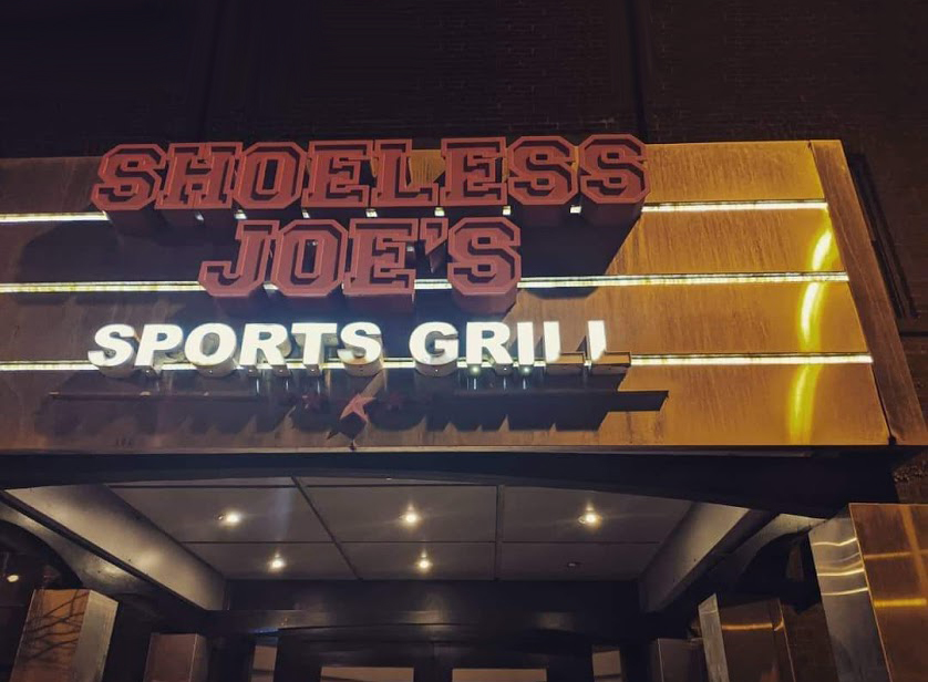 Shoeless Joes building at King and Dufferin image